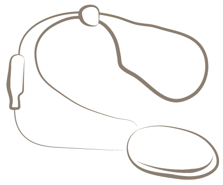 Illustration of a neck loop