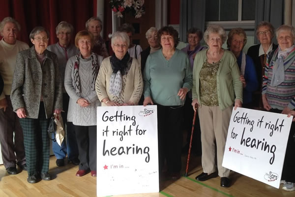 Getting It Right For Hearing: support for project grows