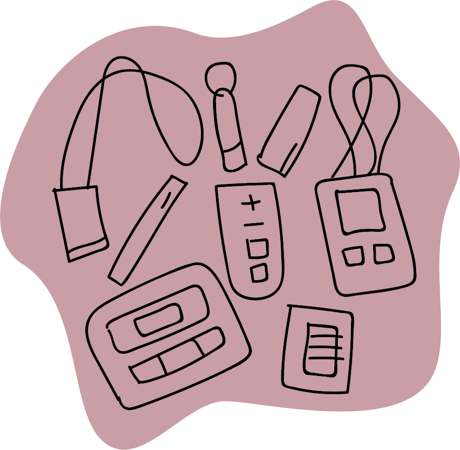 Illustration of assistive technology