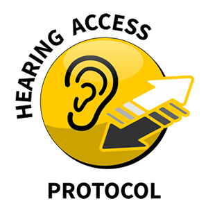 Logo for hearing access protocol