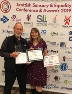 Sally Shaw:  Scottish Sensory and Equality Champion
