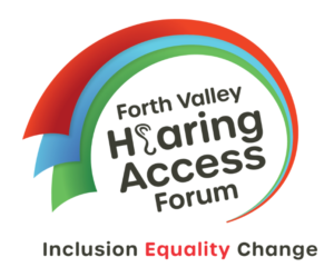 Logo for Forth Valley Hearing Access Forum